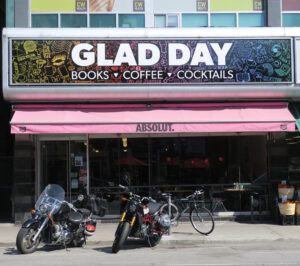 Exterior of Glad Day Bookshop, September 2019.