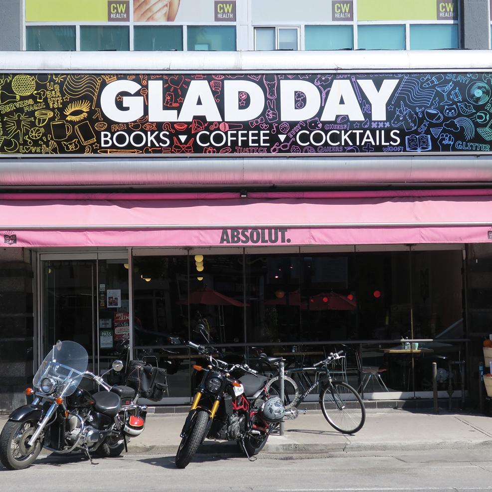 exterior of Glad Day Bookshop